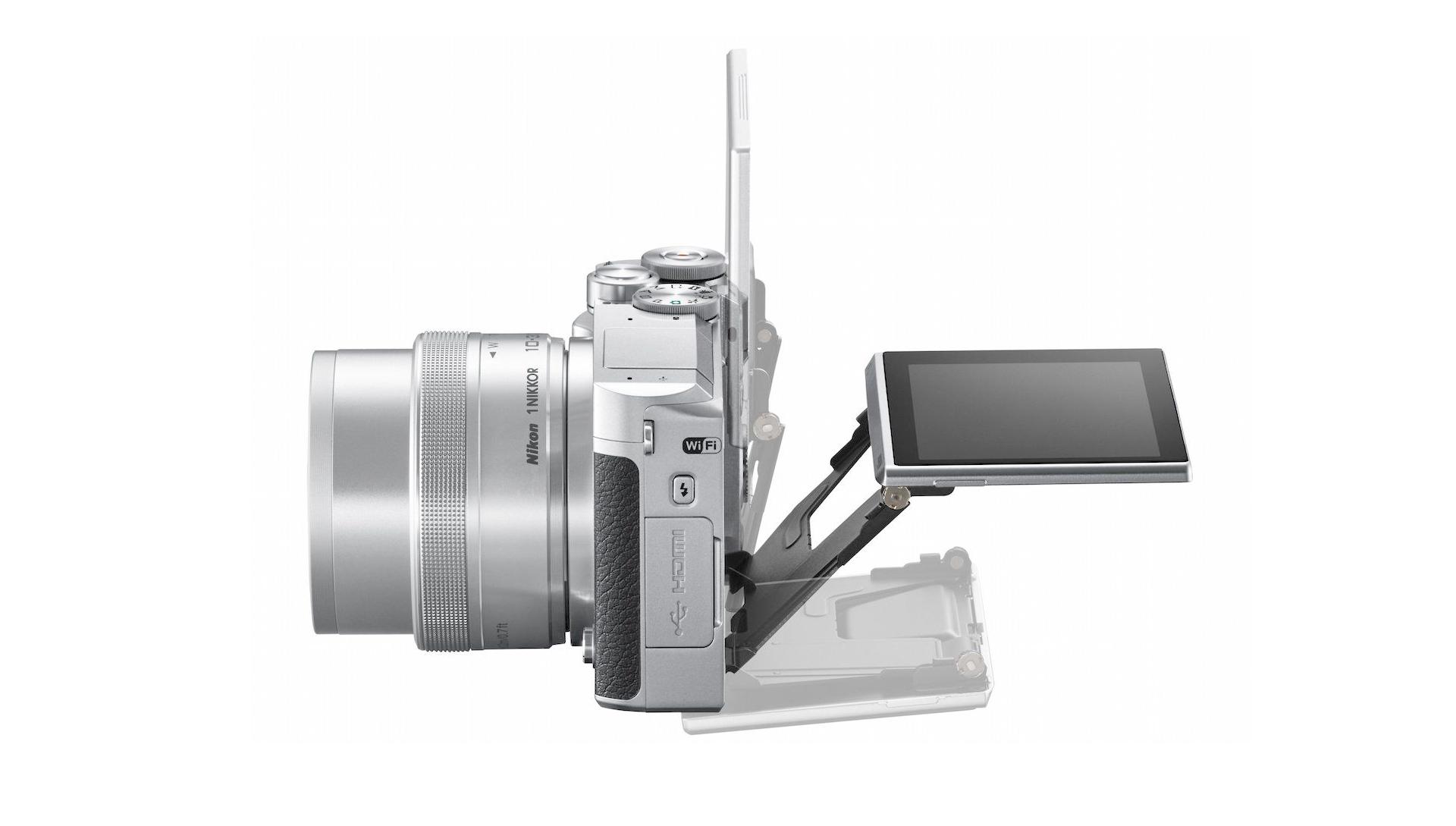 Nikon 1 J5 кинематографска камера в джоба ви