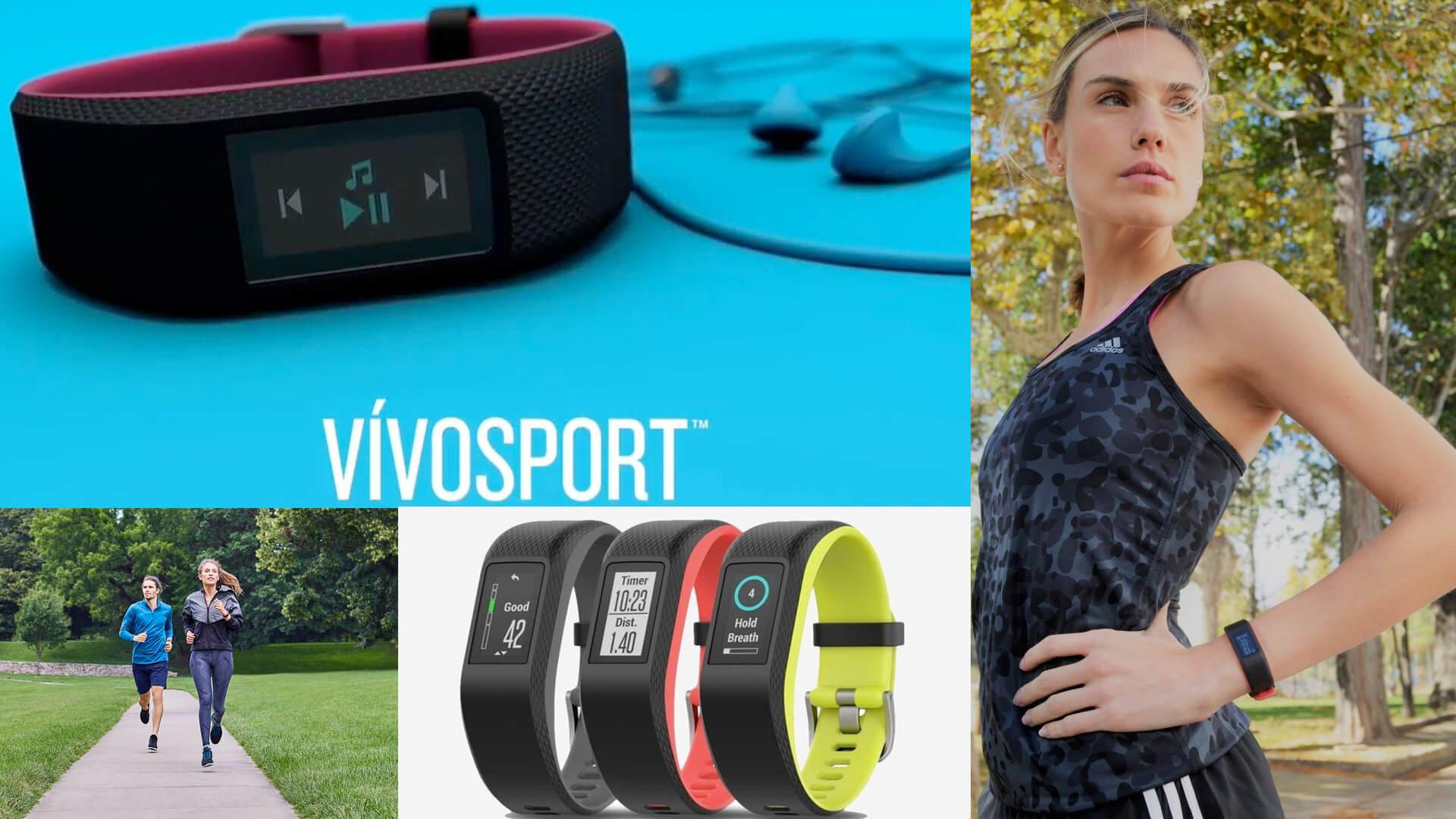 Smart Tracker за активност със сърдечна честота и GPS - vívosport™