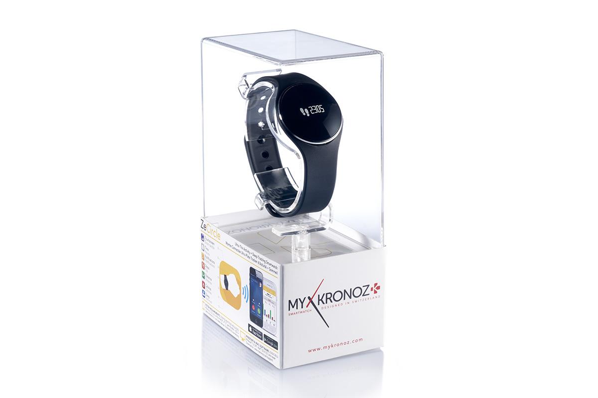 MyKronoz Smartwatch ZeCircle, Часовник с тъч дисплей