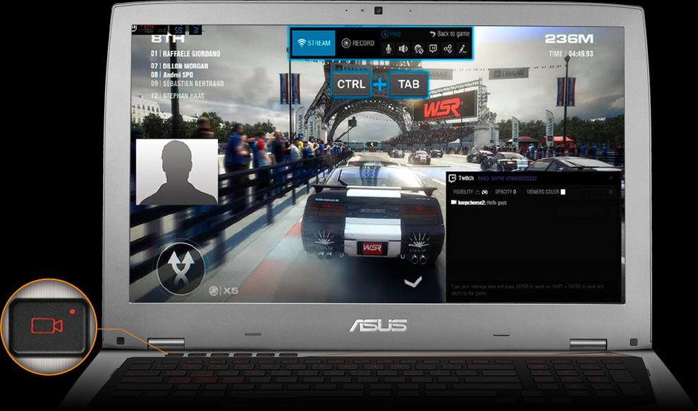 ASUS ROG-GX700, геймърски лаптоп
