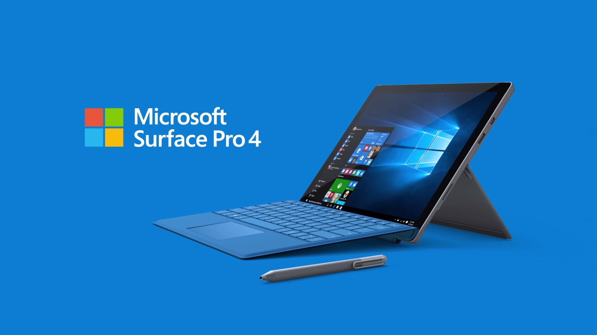 Microsoft Surface Pro 4, презентация