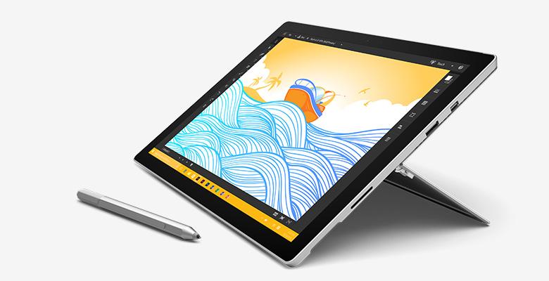 Microsoft Surface Pro 4 в действие