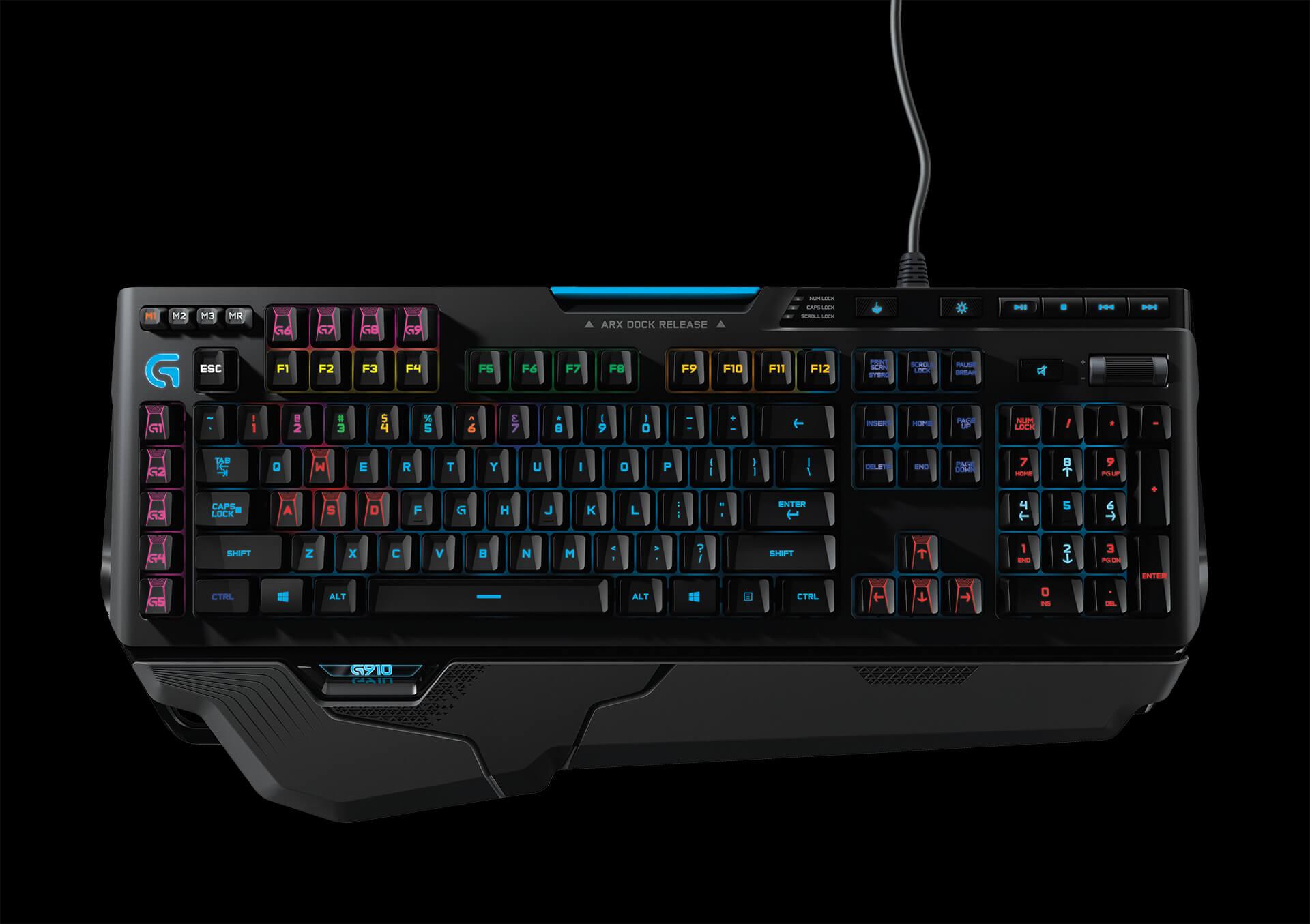 Геймърска клавиатура Logitech G910